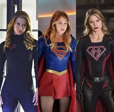 Supergirl Different versions Melissa Marie Benoist, Supergirl Superman, Supergirl And Flash, Marvel Girls, Comics Girls, Melissa Supergirl, Kara Danvers Supergirl, Cinema Tv, Hero Girl