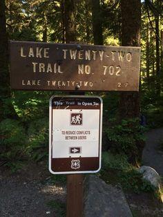 Lake 22, Washington - Mountains, waterfalls, lake views... this trail has it all.