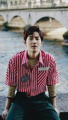 Suho for Allure (march - lawlliets edit Baekhyun Chanyeol, Park Chanyeol, Kai, Kpop Exo, Exo K, Kim Joon Myeon, Kim Minseok, Xiu Min, Exo Members