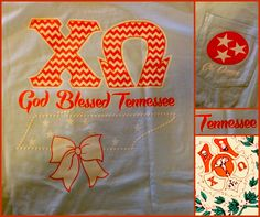God Blessed Tennessee with 8 Chi Omega chapters!!