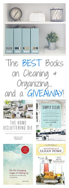 Best Books on Cleaning & Organization... and a Giveaway! - Lemons, Lavender, & Laundry