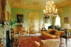 "salacioussnobbery: "" The Drawing Room at Highclere Castle. A study in Rococo Revival splendour """