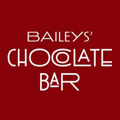 Baileys' Chocolate Bar is a full service restaurant specializing in house-made gourmet desserts, as well as savory pizzas and cheeses, with a full bar featuring fifteen chocolate martinis, over sixty beers, as well as champagne and dessert wines. Baileys' Chocolate Bar, now with a full bar and the most diverse beer selection in St. Louis.