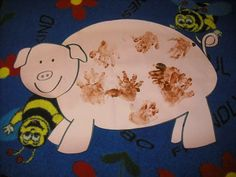 Last week was filled with fabulous farm fun! To start the week, we made a bubble map of farm animals, then focused on different animals ea. Farm Unit, Farm Theme, Down On The Farm, Pre School, Farm Animals, Sprinkles, School Stuff, Kindergarten, Teaching