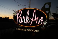 Park Avenue Steak House in Westminster, CA - #googie   I drive by this several times a week and didn't realize it was googie.