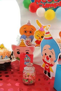 Fiesta Plim Plim Fiesta Party, Some Ideas, Baby Shower Decorations, Ideas Para, Party Planning, First Birthdays, Carnival, Birthday Parties, Invitations