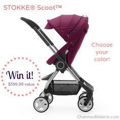 #Win a Stokke® Scoot™ Stroller! #Giveaway via @Valerie Avlo Rowekamp  ENDS 10/30 US & Canada Rafflecopter Entry