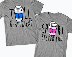 Tall Girl Short Girl Best Friends Matching T-Shirts Funny BFF Besties - Funny Sister Shirts - Ideas of Funny Sister Shirts - Tall Girl Short Girl Best Friends Matching T-Shirts Funny BFF Besties Bff Shirts, Shirts For Teens, Cute Shirts, Funny Shirts, Teen Shirts, Girl Shirts, Best Friend Pullover, Best Friend Hoodies, Best Friend Matching Shirts