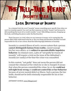 "insainty plea essay Article continues after advertisement regardless of the precise legal standard, the insanity defense is rarely raised and even more rarely successful it is used in only about 1% of cases in the us, and is successful less than 25% of the time what qualifies as a ""mental disease or defect"" for the insanity."