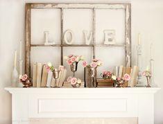 A love mantel
