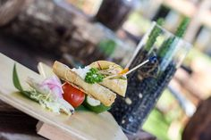 Delicious hors d'oeuvres for you and all of your guests to enjoy #BreathlessCaboSanLucas