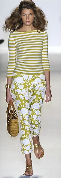 Michael Kors - I ought to make some of these colorful pants.