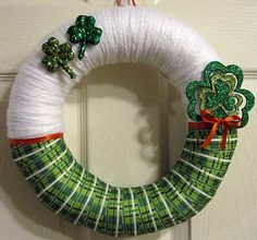 "12"" St. Patrick's Day Wreath"