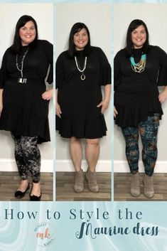 27db98a8ceb How to wear the LuLaRoe Maurine dress. Here are three cute casual outfits  for this
