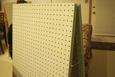 Pegboard displays Think ill make a few of these for my craft show