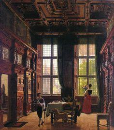 Hansen, Heinrich (Danish, 1821-1890) - Interior, Lubeck - c 1880   Flickr - Photo Sharing!