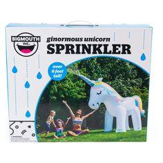 Big Mouth Toys Unicorn Sprinkler - White - image 1 of 3