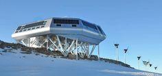 La station internationale Princess Elizabeth du Passivhaus dans l'Antarctique