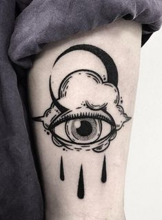 27 Bold Illustrations Blackwork Tattoos #tattoos #blackwork