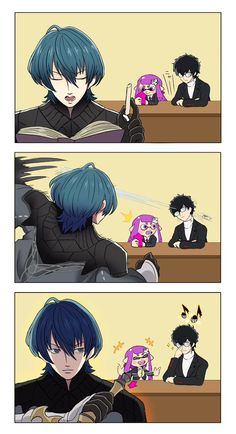 (Professor Byleth and the problem children) Persona 5 Memes, Persona 5 Anime, Super Smash Bros Memes, Nintendo Super Smash Bros, Super Smash Ultimate, Nintendo Characters, Video Game Art, Funny Games, Fire Emblem