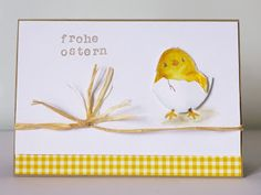 Stampin Up, Sale-a-Bration, So süß / Honeycomb Happiness, Osterkarte / easter card