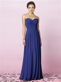 "just kidding. same real bridesmaids dress - ""sailor"" as the color instead. this time for real."