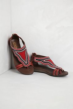 Nairobi Sandals - Maasai collection by Pikolinos, sold once upon a time at anthropologie