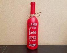 Fourth of July Wine Bottles  4th of July Wine Bottles  Wine