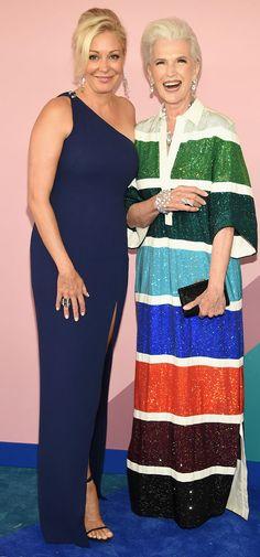 Os looks do tapete vermelho do Prêmio CFDA foram bem mais animados que o do gala do Met, já viu?...