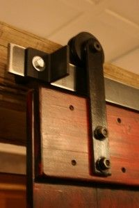 We have two carriage doors on our old garage that I am going to use in the house some where!  This may help greatly!
