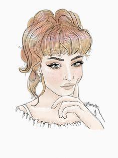 Portrait fashion illustration by verusveteris Fashion Illustrations, Disney Characters, Fictional Characters, Aurora Sleeping Beauty, Portrait, Disney Princess, My Style, Art, Art Background
