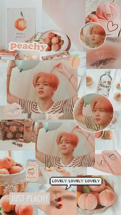 Foto Bts, Bts Photo, Jimi Bts, Bts Emoji, Peach Wallpaper, Jimin Pictures, Bts Aesthetic Wallpaper For Phone, Park Jimin Cute, Peach Aesthetic