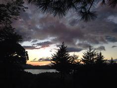 #atardecer #valledebravo #edomex #sunset vista de la deportiva