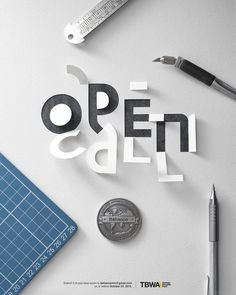 Making the cut: Behance Reviews Manila OPEN CALL Poster in Typography
