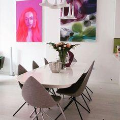 Inside designer Karim Rashid's home | Featuring the Ottawa chairs and dining…