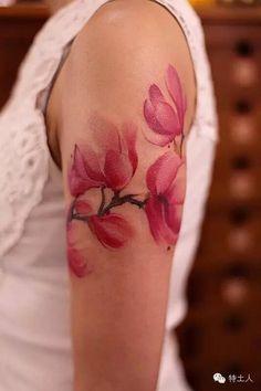 将水墨渲染于皮肤之上:Tattoo Artist陈洁