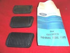 NOS 1965-69 Ford Mustang Brake Pedal Pad C5ZZ-2457-G