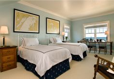 8 Ideas for a Nautically Themed Bedroom: Lake House Nautical Theme