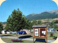 Ecrins, camping Les Eygas, met zwembad. Veel outdoor-activiteiten.