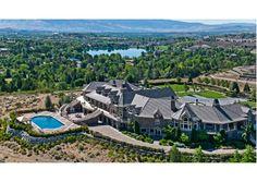 This 18 million dollar mega mansion is extraordinary.   2500 Manzanita Ln, Reno, NV  89509