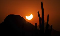 TUCSON SUNSET ECLIPSE ALL ABOUT SAGUAROS, THE RING OF FIRE ...