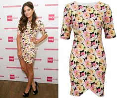 Shop the Made In Chelsea girls style with this dress worn by Binky Felstead