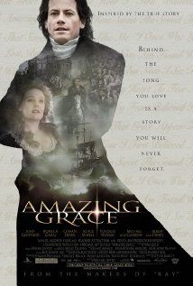 Amazing Grace (2006) - this outstanding movie tells the story of abolitionist William Wilberforce, his faith in God, his marriage and how he ended the slave trade in England.  Absolutely love it!  #movies