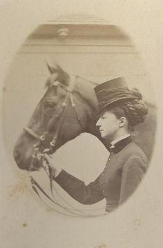 Françoise d'Orleans duchesse de Chartres, 1860-1880