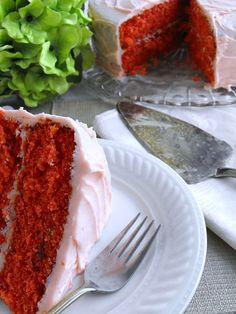 Fresh Strawberry Jell-o Cake