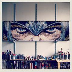 Man, this is tough. ⚡️#thor  Artist:  @har0w  #marvel #art #artist #artbotic #kunst