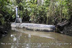 This submarine has seen better days...