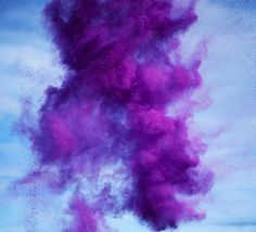 colorful explosions of paint pigments by rob and nick carter