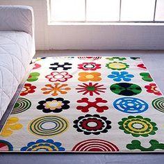 Amazon.com: IKEA LUSY BLOM Rug Low Pile Modern Carpet: Home & Kitchen