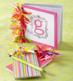 DIY Projects for Teenagers - Ribbon Embellished Notebooks - Cool Teen Crafts Ideas for Bedroom Decor, Gifts, Clothes and Fun Room Organization. Summer and Awesome School Stuff http://diyjoy.com/cool-diy-projects-for-teenagers